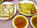 Zam Zam - Plain and Cheese Roti Prata Singapore Halal Indian Food HHWT