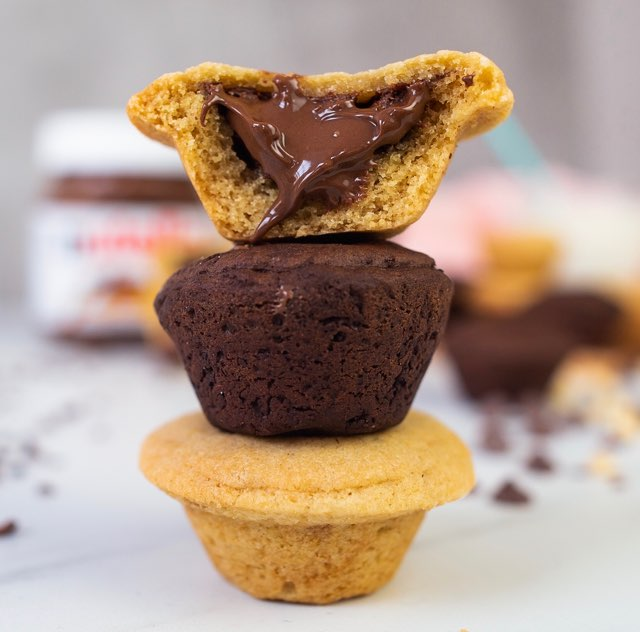 Nutella Cookie Cups Recipe My Big Fat Halal Blog